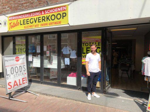 Afbeelding #000 voor het verhaal Loods of Stock tijdelijk terug in Langeviele, D3ALZ Elektro Outlet voor langere tijd