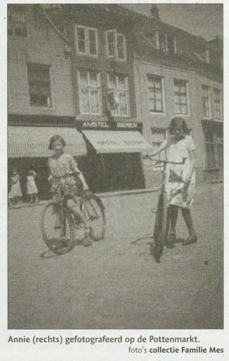 Afbeelding #001 voor het verhaal Louter geluk: mevrouw Mes (99) blijft ondernemen aan de Pottenmarkt!