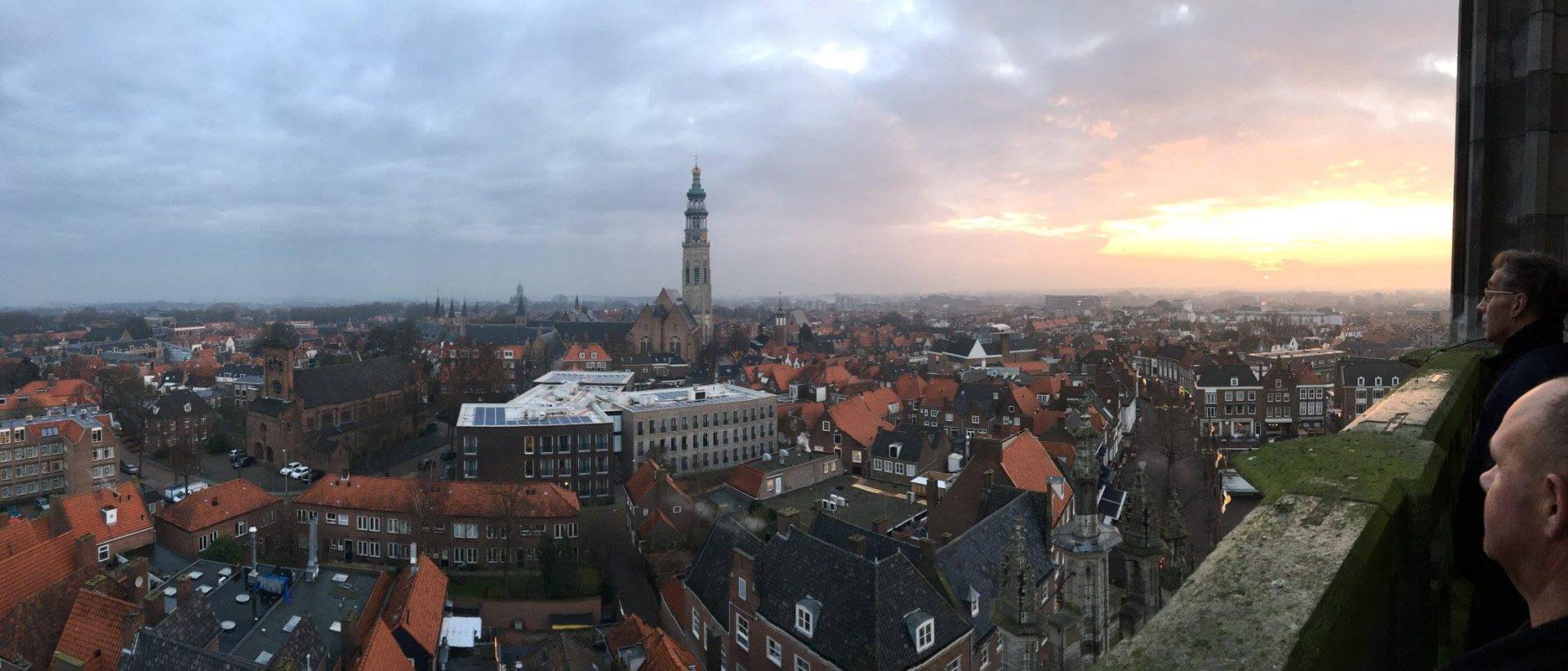 Afbeelding #020 voor het verhaal Malle Betje: de beklimming van de Stadhuistoren van Middelburg