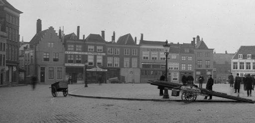 Afbeelding #000 voor het verhaal Markt Middelburg, 1911