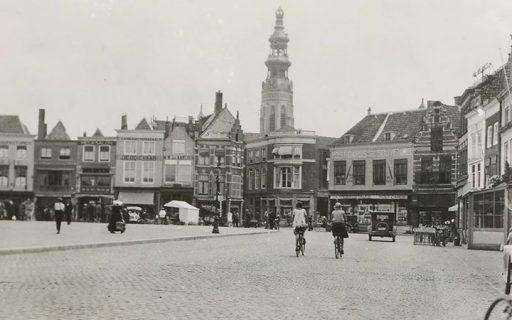 Afbeelding #000 voor het verhaal Markt Middelburg, 1915
