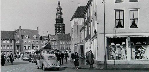 Afbeelding #000 voor het verhaal Markt Middelburg, 1953