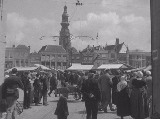 Afbeelding #000 voor het verhaal Marktdag in Middelburg in 1924, in 18 foto's
