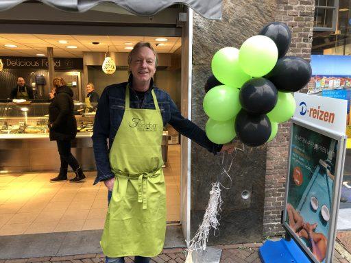 Afbeelding #000 voor het verhaal Martin Meedendorp over de opening van Foodbar Middelburg