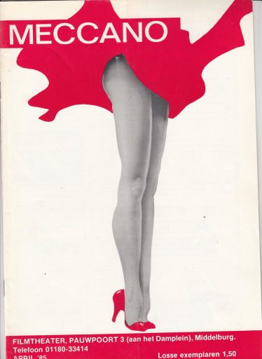 Afbeelding #000 voor het verhaal Meccano, een Middelburgs cinematijdschrift uit 1985