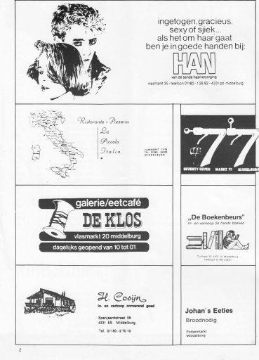 Afbeelding #001 voor het verhaal Meccano, een Middelburgs cinematijdschrift uit 1985