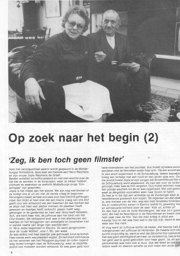 Afbeelding #003 voor het verhaal Meccano, een Middelburgs cinematijdschrift uit 1985