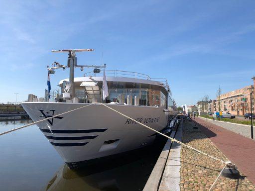 Afbeelding #000 voor het verhaal Meer dan 150 cruiseschepen doen Middelburg aan, in 2018