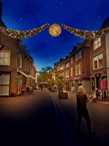 Afbeelding #002 voor het verhaal Meer sfeerverlichting in de binnenstad van Middelburg: een update én oproep van de VOM