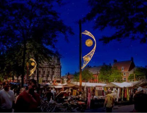 Afbeelding #004 voor het verhaal Meer sfeerverlichting in de binnenstad van Middelburg: een update én oproep van de VOM
