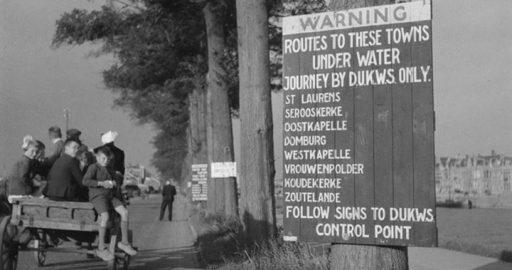 Afbeelding #000 voor het verhaal Met de boerenkar naar Middelburg, oktober 1945