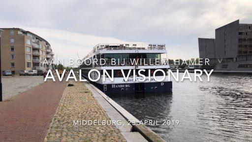 Afbeelding #000 voor het verhaal Met Willem Hamer aan boord van de Avalon Visionary in Middelburg
