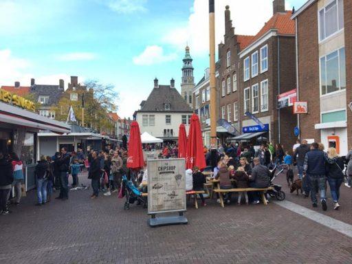 Afbeelding #000 voor het verhaal Middelburg 10 oktober 2016: nog altijd druk in De Stad