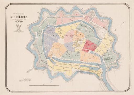 Afbeelding #008 voor het verhaal Middelburg 1860: de St. Geertruida Straat, -Weg, -Poort en -Buitenbrug
