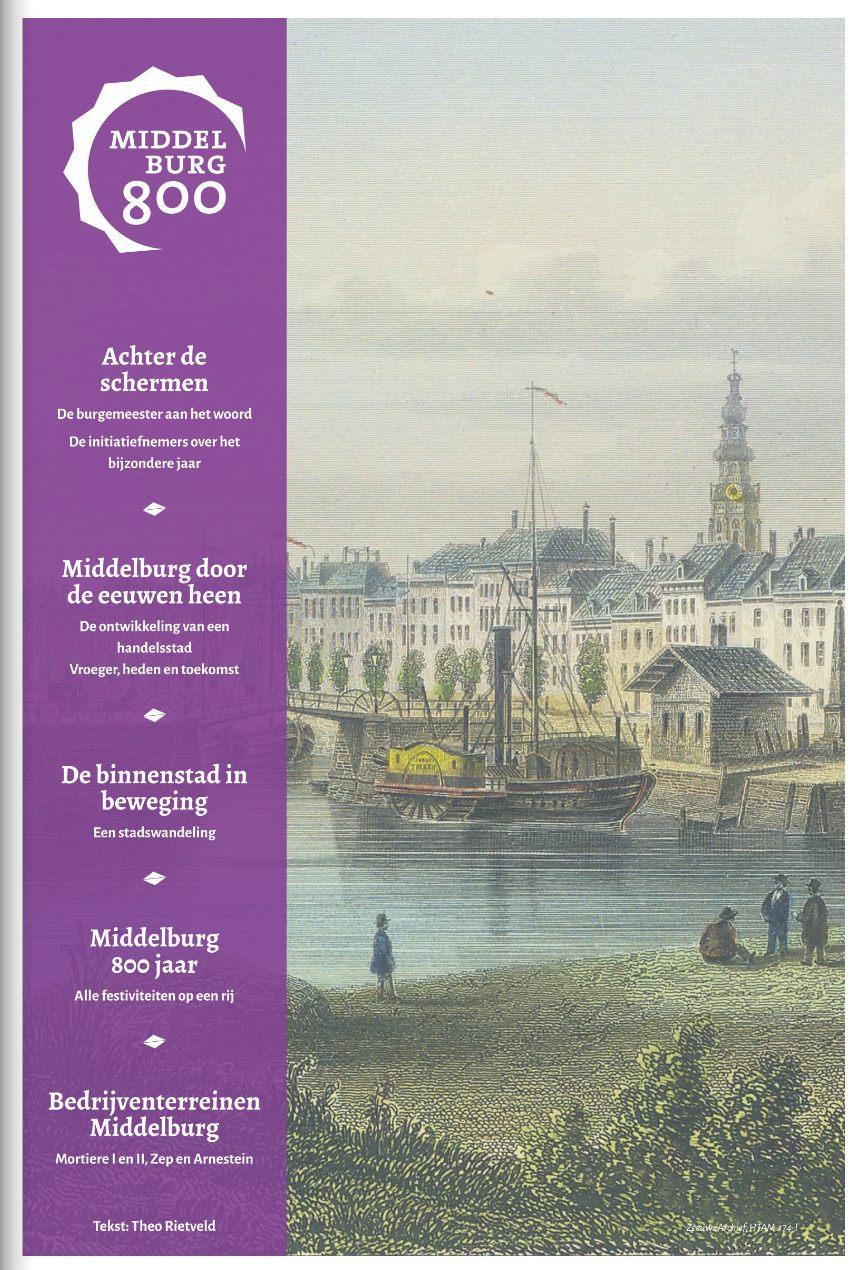 Afbeelding #000 voor het verhaal Middelburg (800) en Wij zijn De Stad in de spotlights, in De Faam