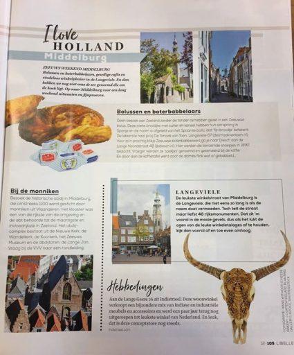 Afbeelding #000 voor het verhaal Middelburg (en Veere) in de Libelle
