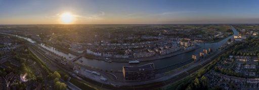 Afbeelding #000 voor het verhaal Middelburg, gezien vanuit een drone