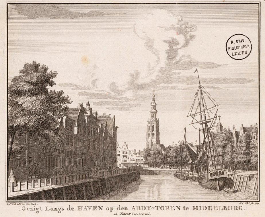 Afbeelding #000 voor het verhaal Middelburg in 12 oude prenten