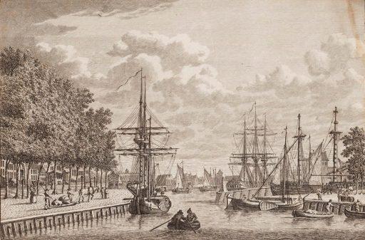 Afbeelding #001 voor het verhaal Middelburg in 12 oude prenten