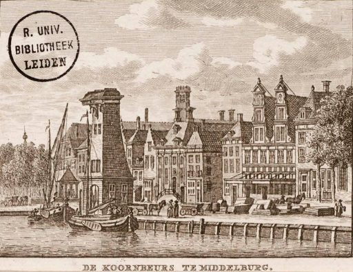 Afbeelding #002 voor het verhaal Middelburg in 12 oude prenten