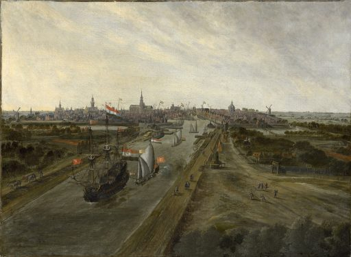 Afbeelding #000 voor het verhaal Middelburg in 20 oude prenten en gravures