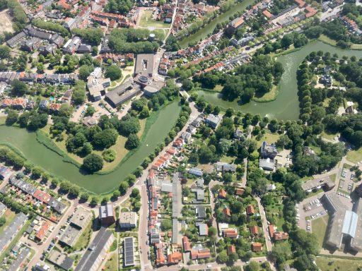 Afbeelding #000 voor het verhaal Middelburg in vogelvlucht met Aerolin