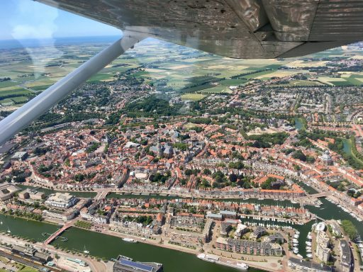 Afbeelding #001 voor het verhaal Middelburg in vogelvlucht met Aerolin