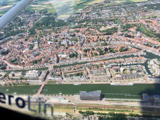 Afbeelding #002 voor het verhaal Middelburg in vogelvlucht met Aerolin