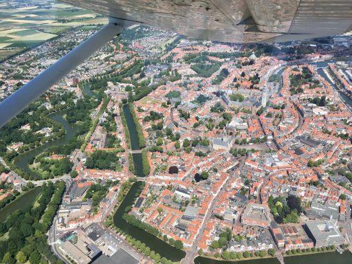 Afbeelding #003 voor het verhaal Middelburg in vogelvlucht met Aerolin