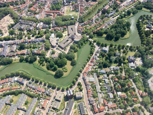 Afbeelding #004 voor het verhaal Middelburg in vogelvlucht met Aerolin