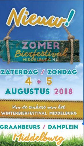 Afbeelding #000 voor het verhaal Middelburg krijgt ook een Zomer Bierfestival op het Damplein