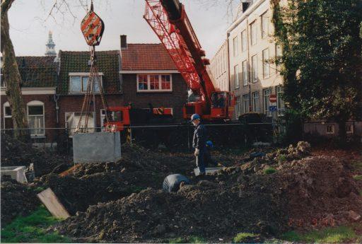 Afbeelding #000 voor het verhaal Middelburg ondergronds: het overstortbassin achter de Watertoren