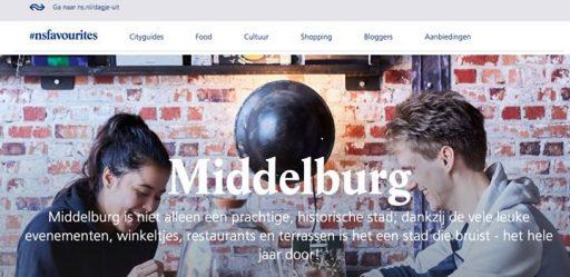 Afbeelding #000 voor het verhaal Middelburg op #nsfavourites