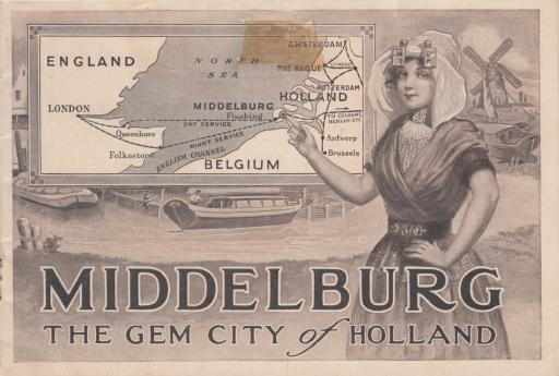Afbeelding #000 voor het verhaal Middelburg, the gem city of Holland (1911)