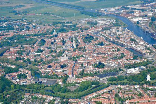 Afbeelding #002 voor het verhaal Middelburg vanuit de lucht, door de lens van Aart, mei 2018