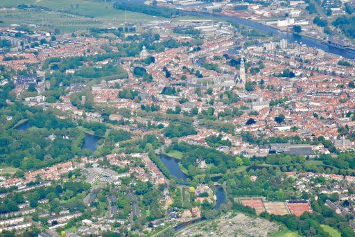 Afbeelding #003 voor het verhaal Middelburg vanuit de lucht, door de lens van Aart, mei 2018