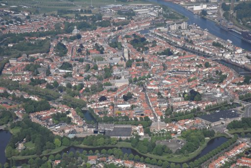 Afbeelding #004 voor het verhaal Middelburg vanuit de lucht, door de lens van Aart, mei 2018