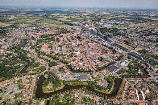 Afbeelding #000 voor het verhaal Middelburg vanuit de lucht, door de lens van Studio HierWier