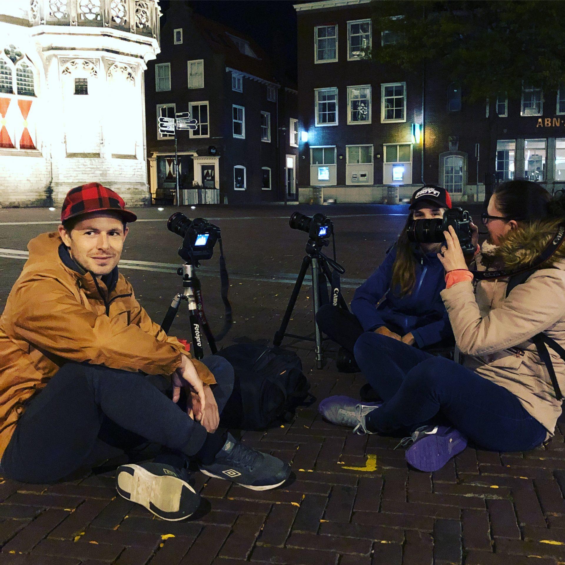 Afbeelding #000 voor het verhaal Middelburg, written in light