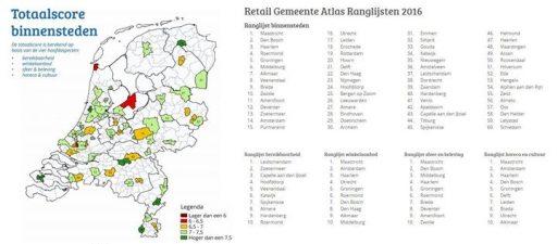 Afbeelding #000 voor het verhaal Middelburg zesde op ranglijst Retail Gemeente Atlas 2016