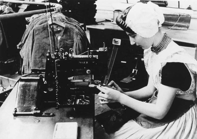 Afbeelding #000 voor het verhaal Middelburgse bedrijven van toen: de Zeeuwsche Confectie Fabriek