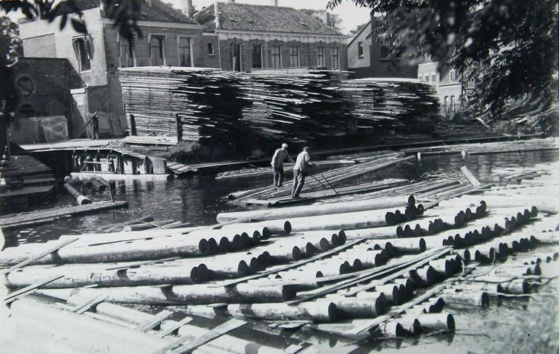 Afbeelding #000 voor het verhaal Middelburgse bedrijven van toen: Houthandel Alberts