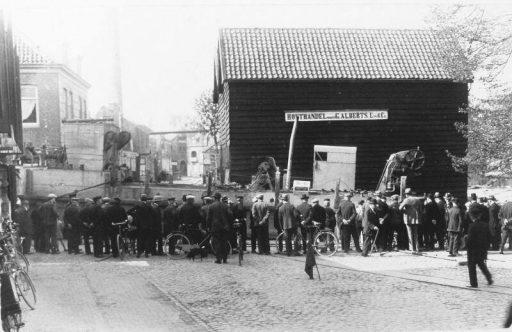Afbeelding #001 voor het verhaal Middelburgse bedrijven van toen: Houthandel Alberts