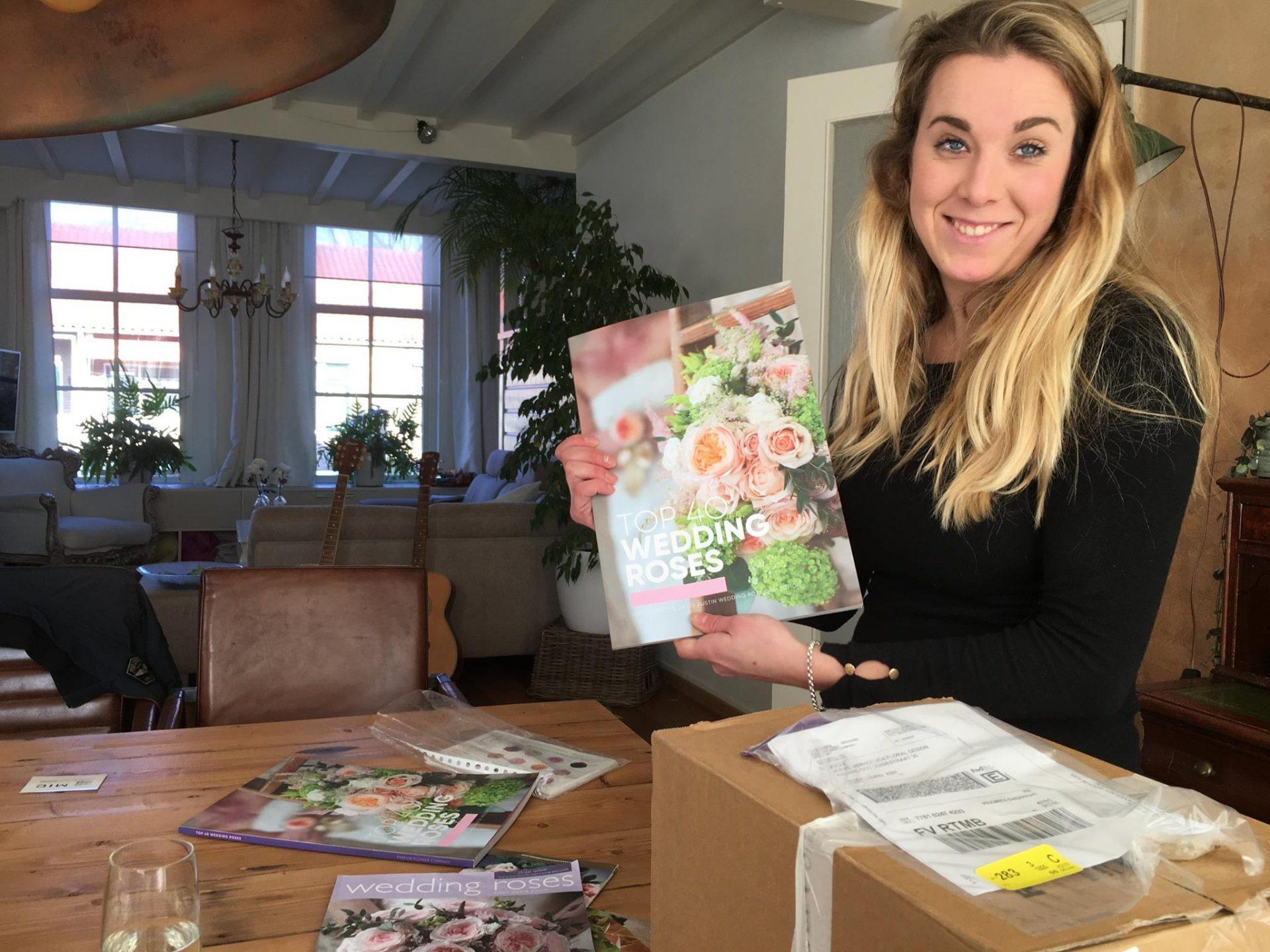 Afbeelding #000 voor het verhaal Middelburgse Joeke in boek Top 40 Wedding Roses