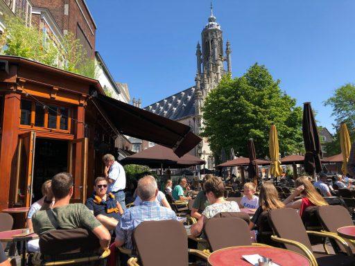 Afbeelding #000 voor het verhaal Middelburgse ondernemers zetten Vlaamse bezoekers in het zonnetje