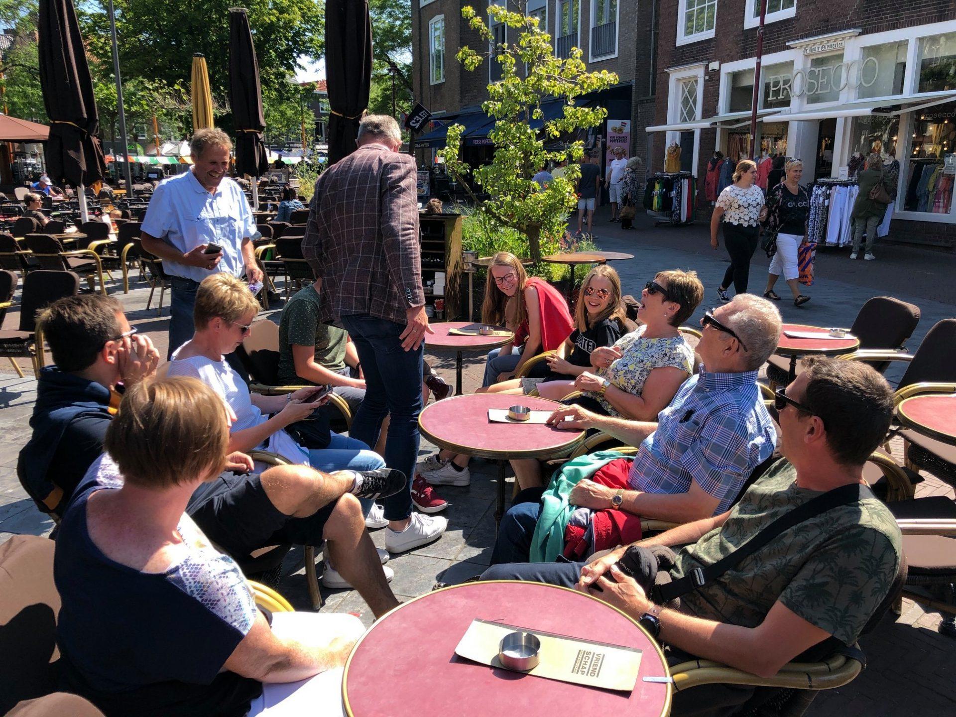 Afbeelding #001 voor het verhaal Middelburgse ondernemers zetten Vlaamse bezoekers in het zonnetje