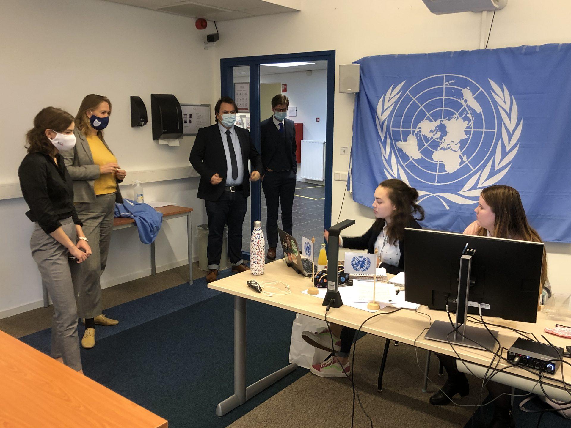 Afbeelding #000 voor het verhaal Moderne Verenigde Naties in Middelburg en Zeeland