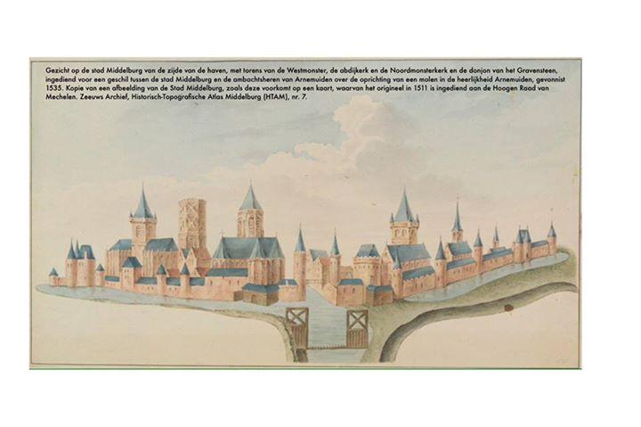 Afbeelding #000 voor het verhaal Mooi: een cursus Middelburgse stadsgeschiedenis
