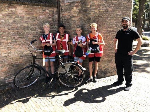 Afbeelding #000 voor het verhaal Mooi werk: de jeugd verwelkomt de bezoekers van Middelburg