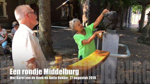 Afbeelding #000 voor het verhaal Mooie beelden! Een rondje Middelburg met Karel van de Beek en Anita Dekker